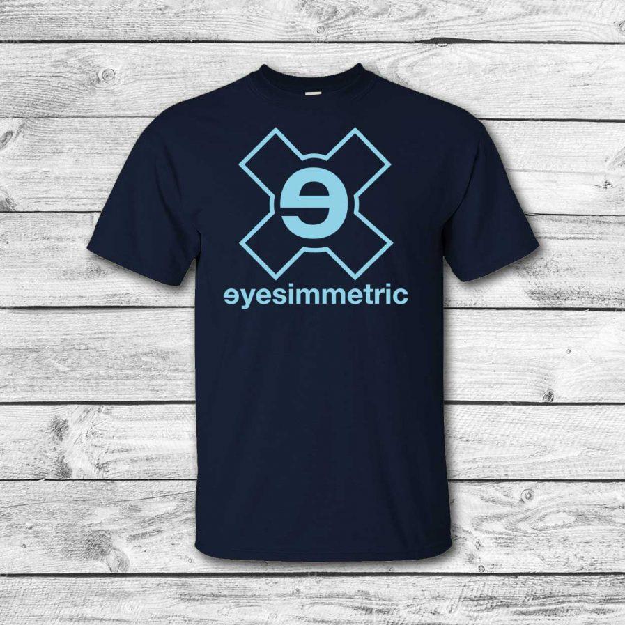 camiseta surf skate eyesimmetric