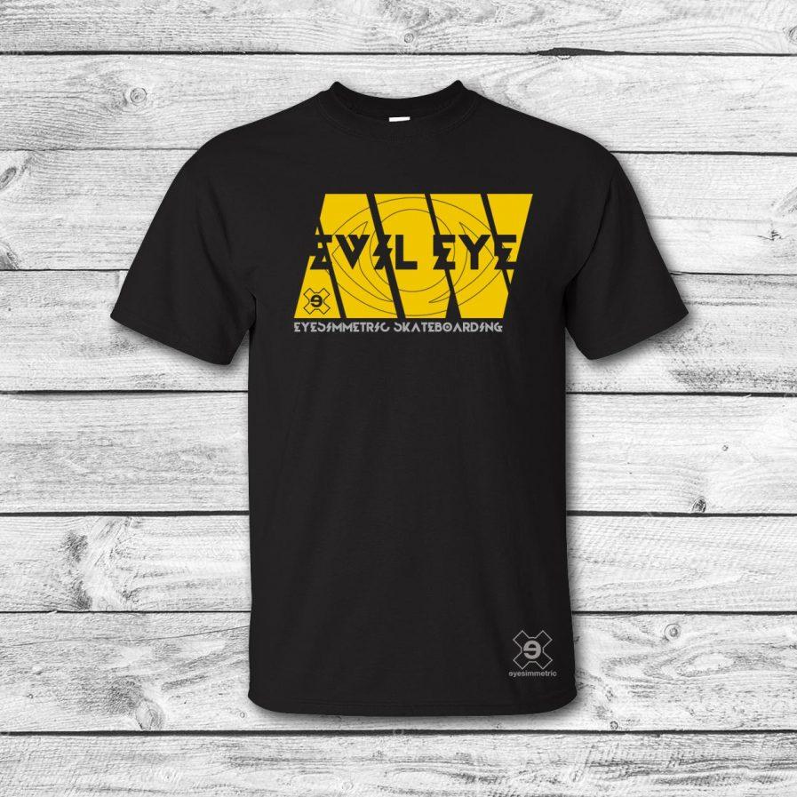 camiseta-surf-skate-afgan-negro-amarillo-eyesimmetric