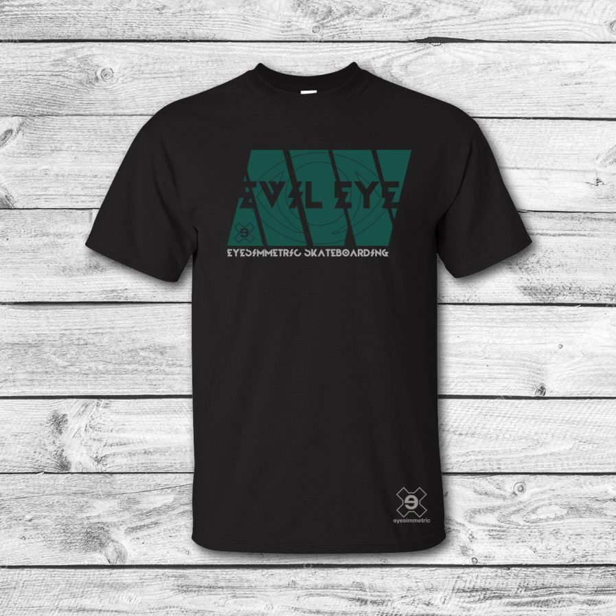 camiseta-surf-skate-afgan-negro-verde-eyesimmetric