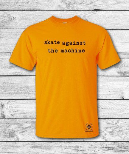 camiseta surf skate eyesimmetric satm, amarilla