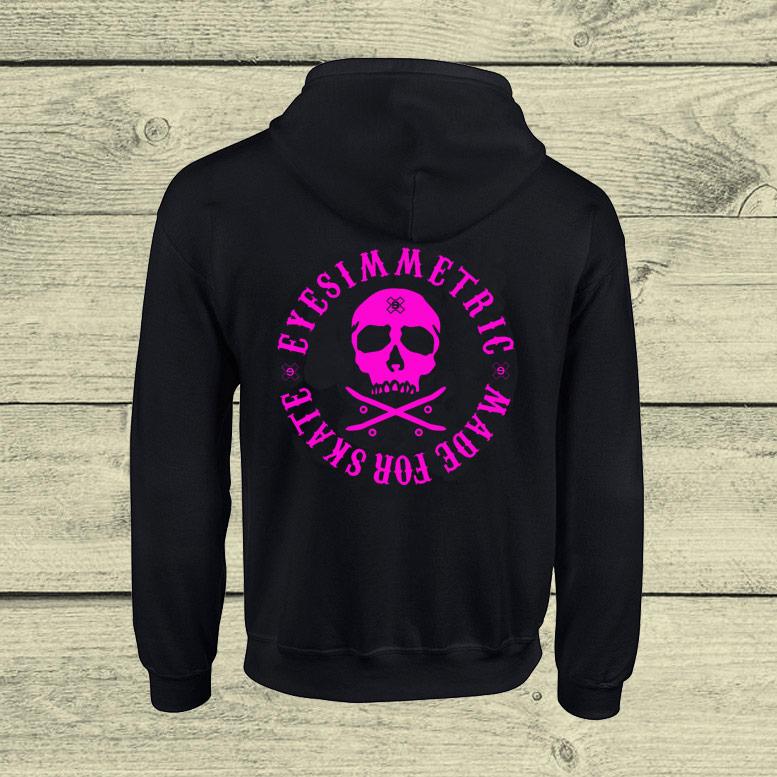 sudadera-eyesimmetric-skate-skull-rosa-fluor-detras