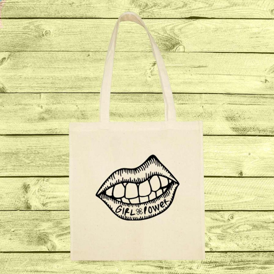 eyesimmetric-lips-totebag-blanco