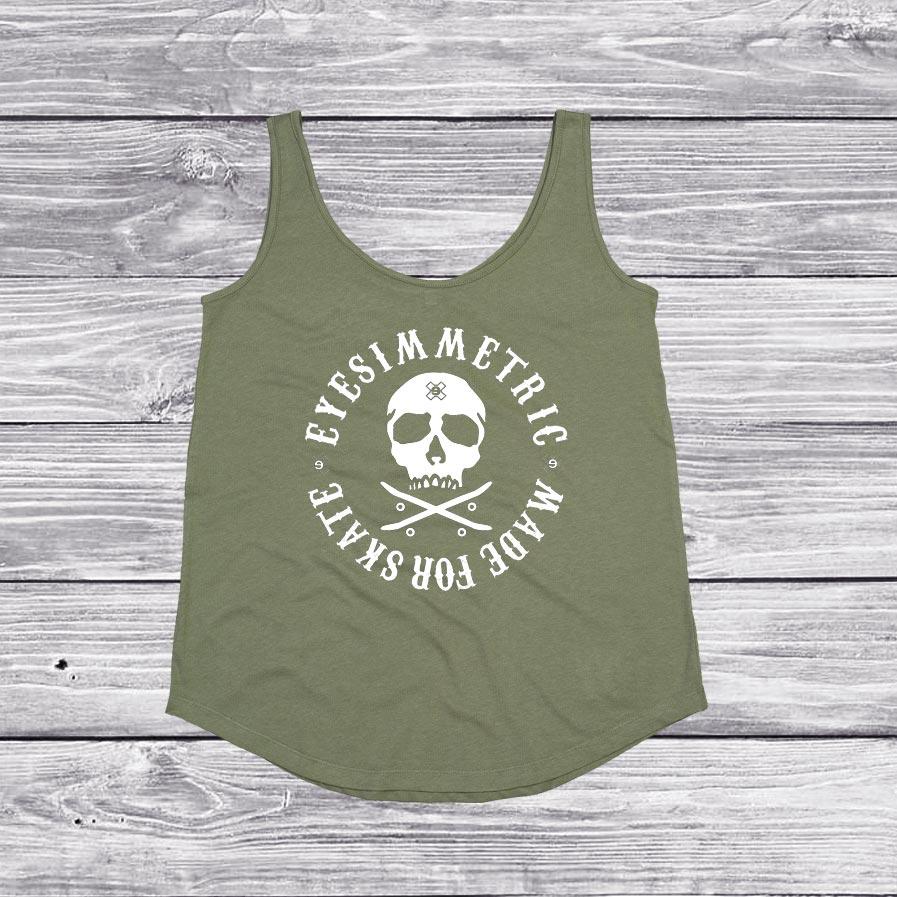 camiseta-organico-salty-days-verde-eyesimmetric-back